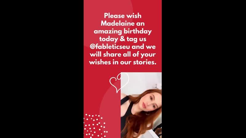 Madelaine Petsch x Fabletics