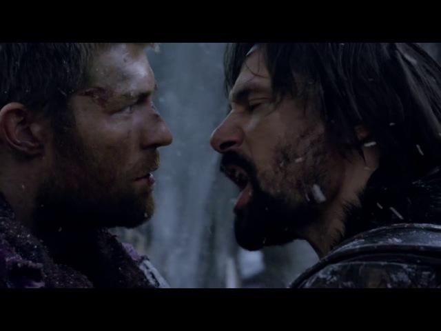 Спартак Война проклятых Драка Крикса и Спартака Ты не бог