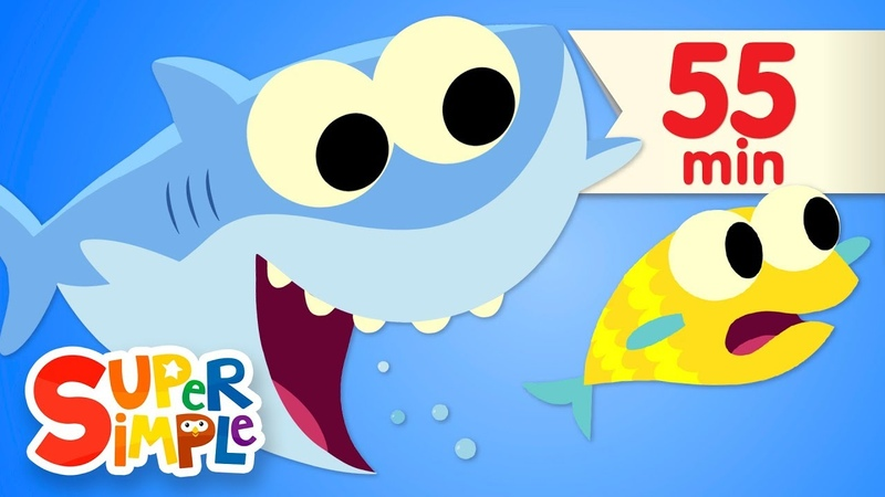 Baby Shark - featuring Finny The Shark | More Kids Songs | Super Simple Songs