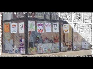 Гатчина. Детская библиотека. Ожившие книги, или Театральные истории (выставка)
