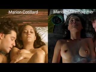 Nude actresses (Marion Cotillard, Marion Mitterhammer) in sex scenes / Голые актрисы (Марион Котийяр, Марион Миттерхаммер) в сек