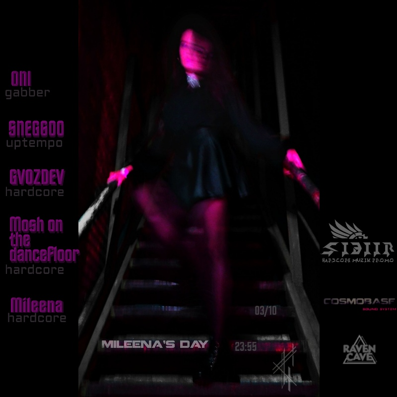 Афиша Новосибирск 03/10 / Mileena's day / Raven Cave / 23:55