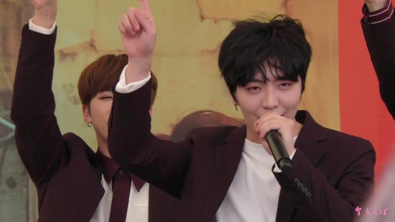 [FANCAM] 190518 백퍼센트(100%) - Cause You're Beautiful (Chanyong focus) @ Chiba - Seven Park Ario Kashiwa