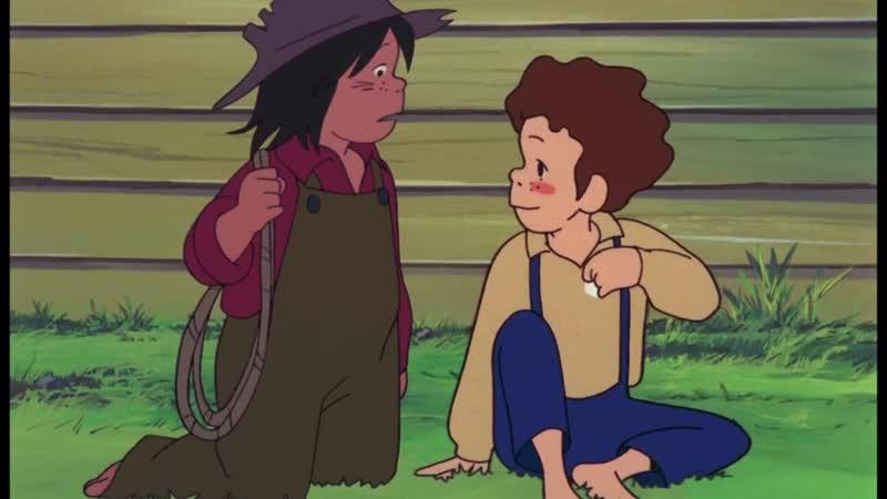 Озвучка 1 серия Приключения Тома Сойера Tom Sawyer no Bouken Amazing Dubbing