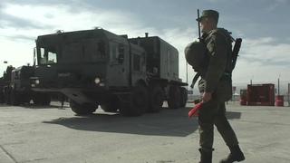 «Бал» береговой ракетный комплекс Армии России уничтожил десантные корабли условного противника