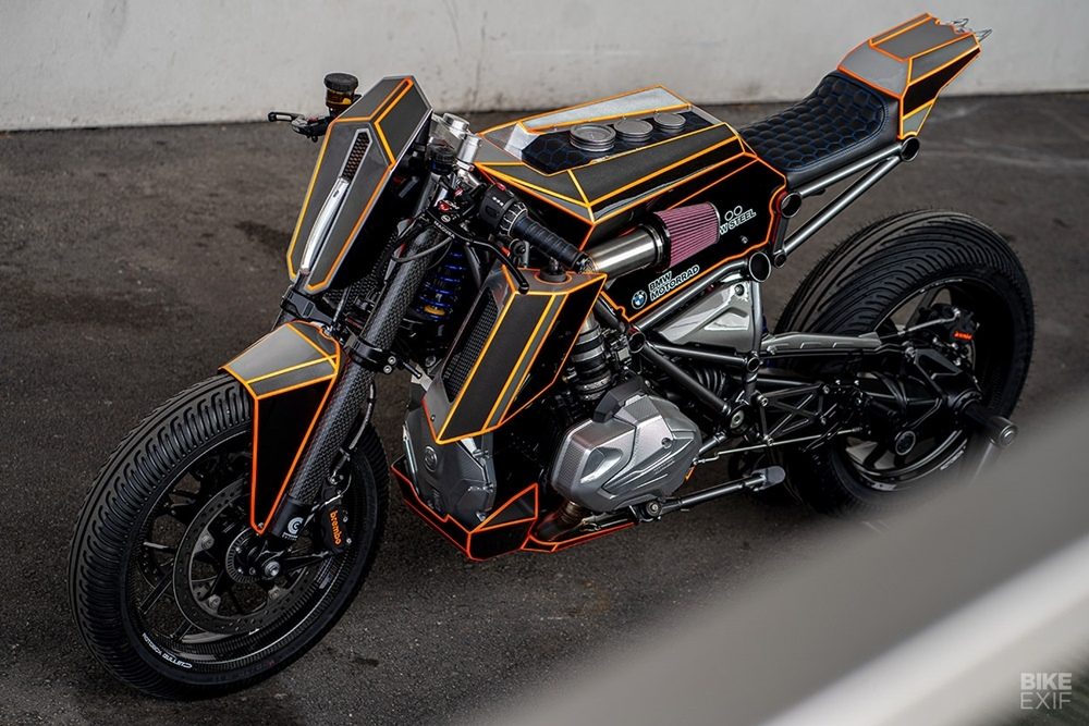 Ironwood Custom Motorcycles: трекер BMW R1250GS Dominator