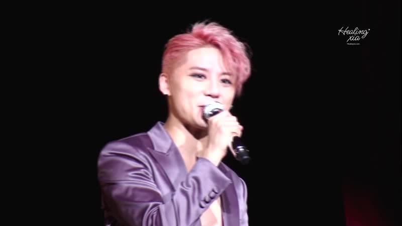 161211 XIA Ballad&Musical Concert with Orchestra vol 5 우리 또 봐