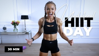 UNIQUE Unilateral HIIT Workout - Full Body, No Equipment   Caroline Girvan