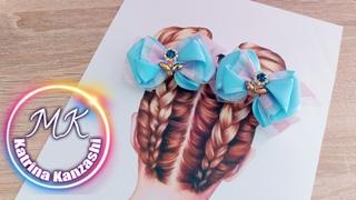 Любимые🎀на первые хвостики.✂️DIY🙌Beebeecraft✂️Favorite 🎀 on the first ponytails 🙌DIY🙌 Beebeecraft ✂️