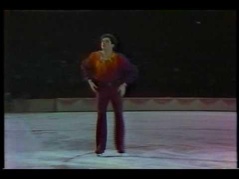 Robin Cousins GBR 1985 World Challenge of Champions Men's Event