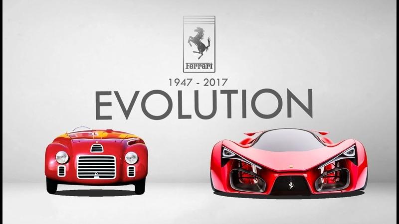 Ferrari Evolution 1947 2017