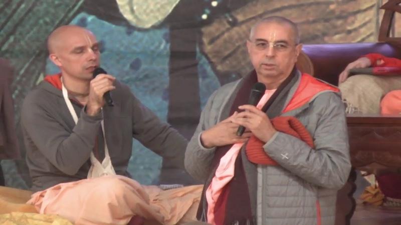 Ниранджана Свами Шрила Прабхупада о безопасном вождении —Бхакти-сангама, 16 сентября 2019 г.