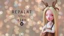 🌿 hitomy ito 🌿 OOAK Repaint deer KIKU