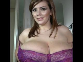 Меряем новое белье на большую грудь Xenia Wood