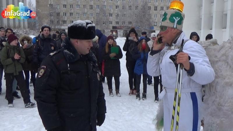 Архангельск Время Ч пробило Андрей Христофоров вывел своих сторонников на улицу