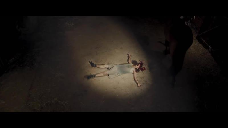 Парня убивают с помощью лошади Отрывок из фильма Выродки