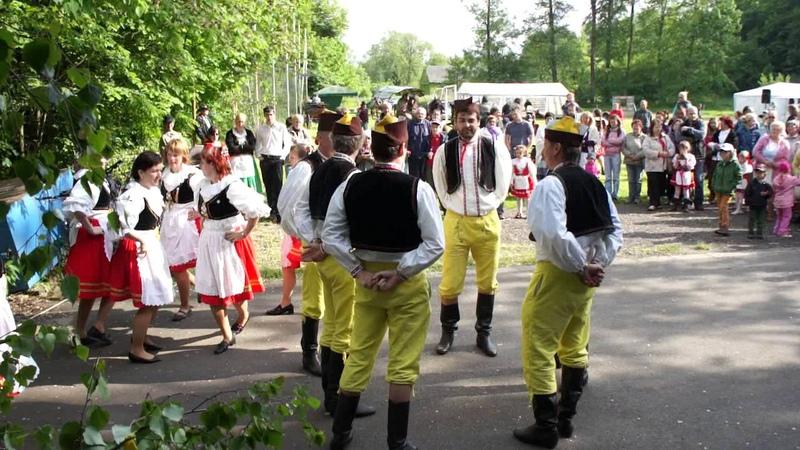 Lidový tanec Husar Česká beseda Mistrovice