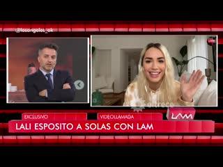 La nota completa de Lali Espósito en LAM