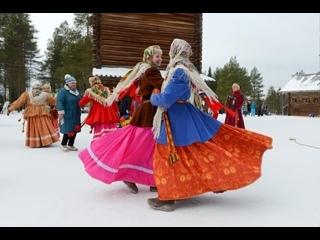 Танцевальный флешмоб от Масленицы и Весны.