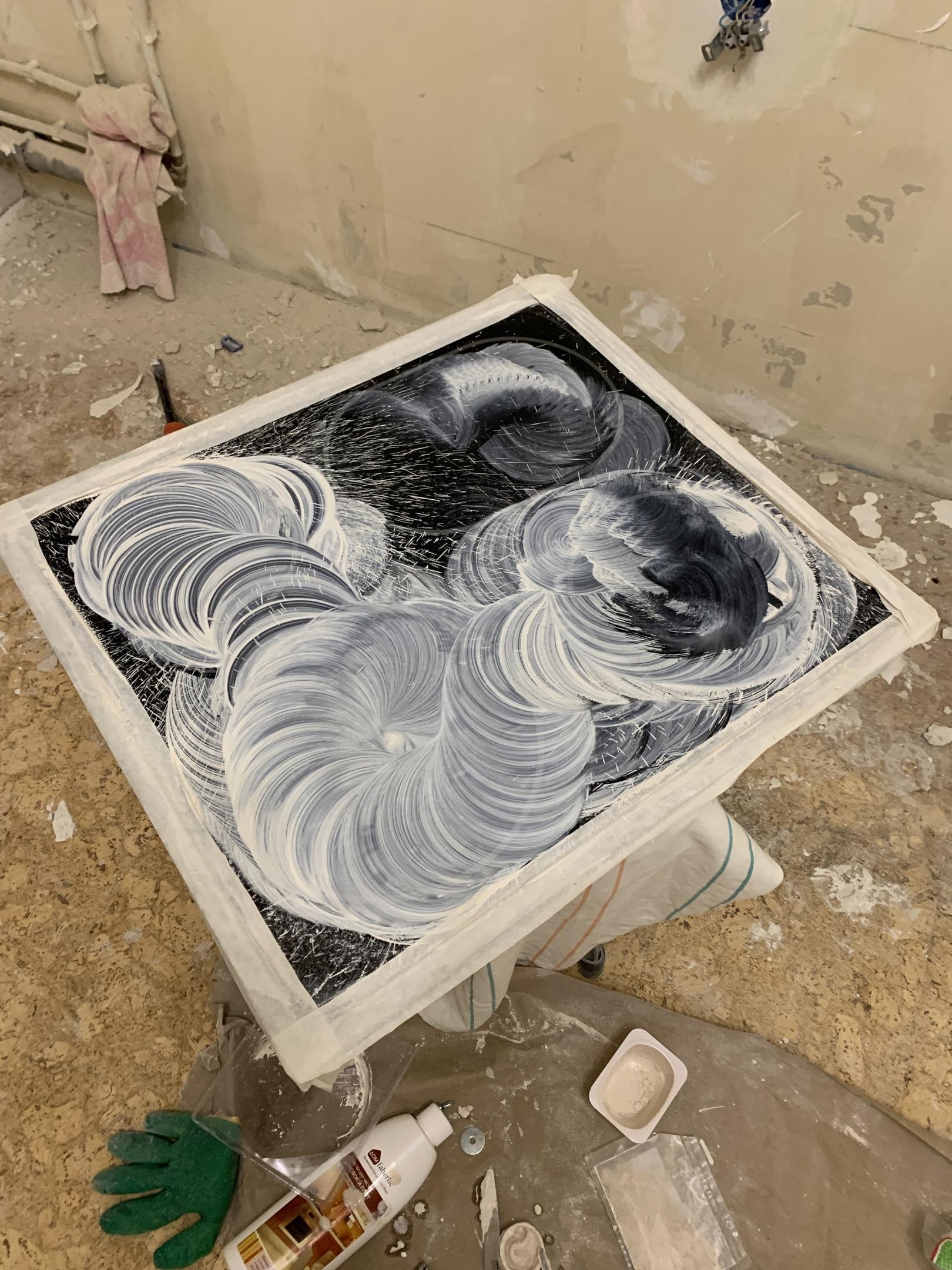 Восстановление плиты