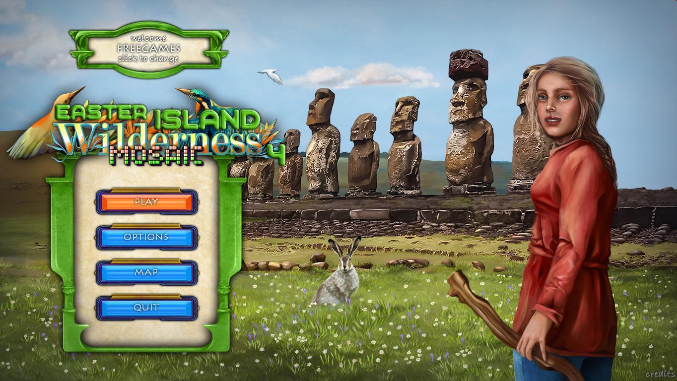 Wilderness Mosaic 4: Easter Island (En)