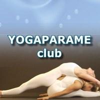 Логотип Йога с Партнером в Воронеже-YOGAPARAMEclub