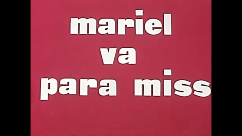Mariel va para miss 1963