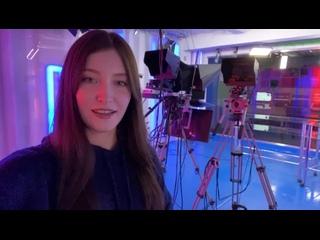 Студентка 4 курса МАГУ и корреспондент «Арктик-ТВ» Анна Чайникова