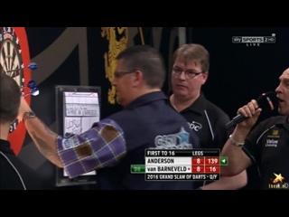 Gary Anderson vs Raymond van Barneveld (Grand Slam of Darts 2016 / Quarter Final)