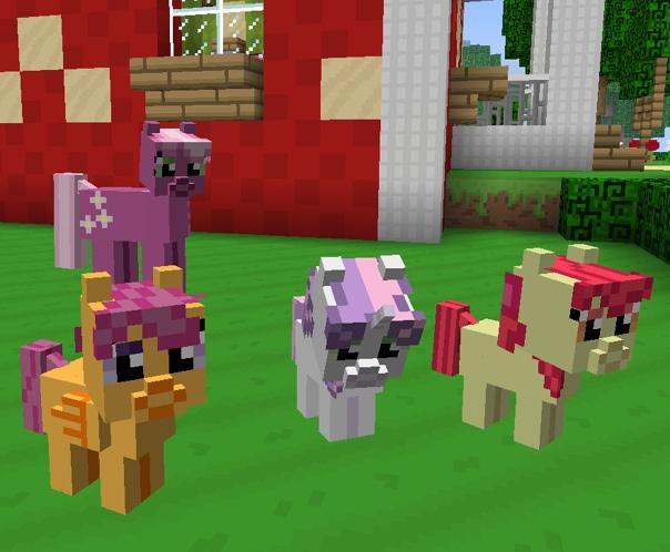 моды на майнкрафт 1.7.10 на май литл пони #4