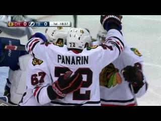 НХЛ 16-17. Двадцать пятая заброшенная шайба Артемия Панарина в сезоне 2016-2017