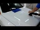 Mercedes-Benz GLK - восстановительная полировка и керамическое покрытие кузова