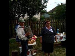 Песни сельчанам и деревне посвящают культработники из Малиновки. Праздник деревни Рудня Бурицкая, 13 июля.