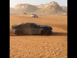 Крутит бублики в пустыне