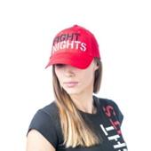 Кепка Fight Nights ровное лого красная