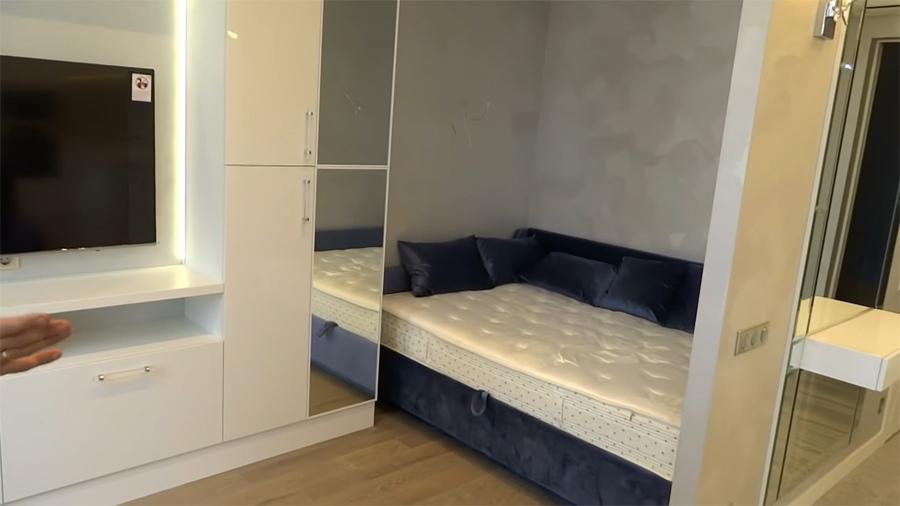 Красивый и качественный ремонт квартиры-студии до 30 м в Москве от Андрея Довжанского.