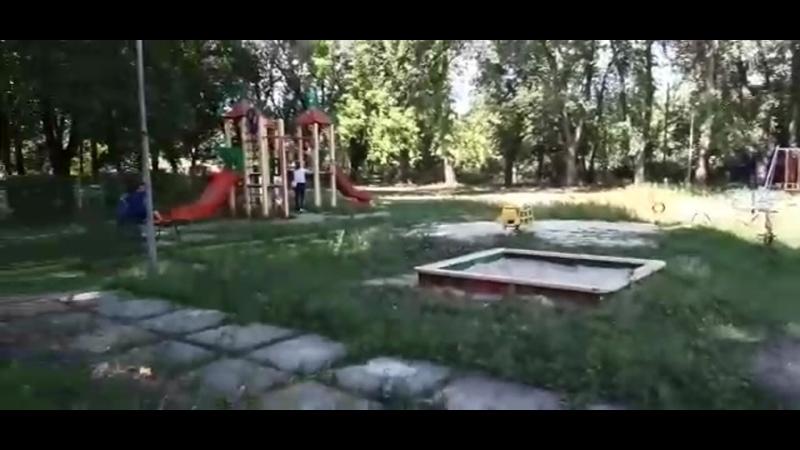 СЛАВЯНСК. Субботник на спортплощадке пансионата Славкурорт 🎈