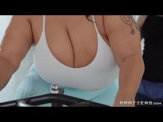 Тренер трахнул толстую клиентку с большими сиськами, sex fat ass big tit ebony deep porn fuck sport oil bbw butt (Hot&Horny)