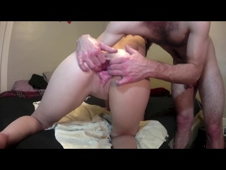Stretch And Gape My Little Pussy and Ass [фистинг, анал, fisting, extreme insertion, anal, gape, домашнее порно]