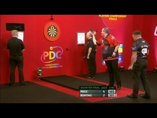 Gerwyn Price vs Stephen Bunting (PDC Players Championship Finals 2019/ Quarter Final)