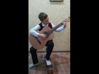 "Глебов Иван. Номер - РНП ""Как ходил, гулял Ванюша"""