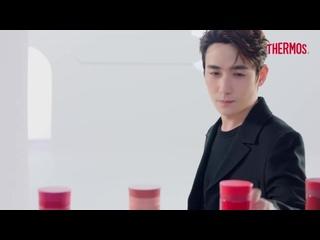 #ZhuYilong Новая реклама #THERMOS Серия контейнеров для губной помады