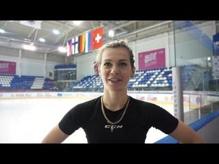 Интервью Анны Пруговой после матча Россия - Швейцария,