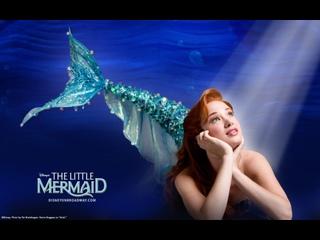 The Little Mermaid Broadway 2008 год (Бред Шуффарт, Сьерра Боггесс)