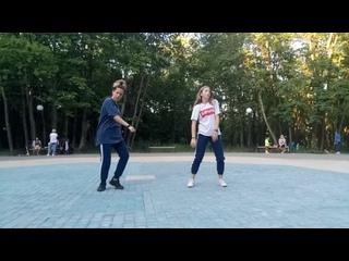 Дуэт Дарьи Воскресенской и Виктории Шкаевой (хип хоп хореография Юлии Савенковой)