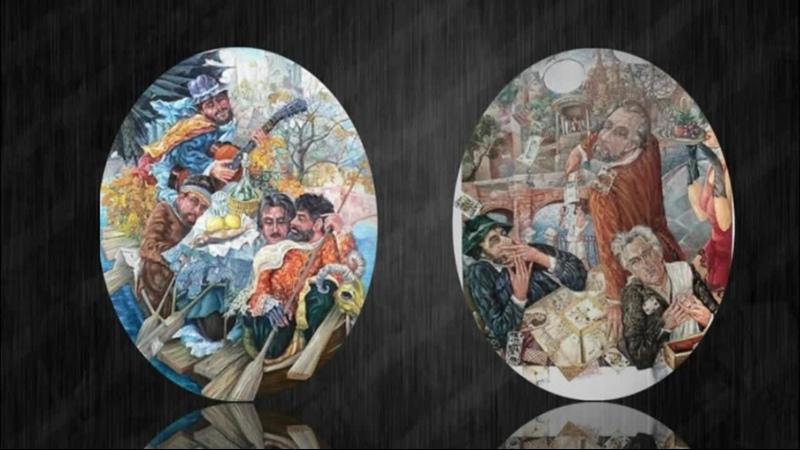 Картины словно кусочки разбитых зеркал