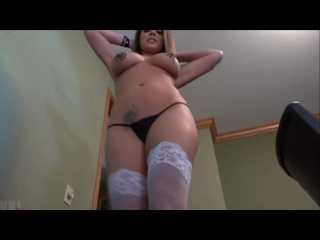 Thick ass step sister came back from the gym and before take a shower gets fuck by step brother
