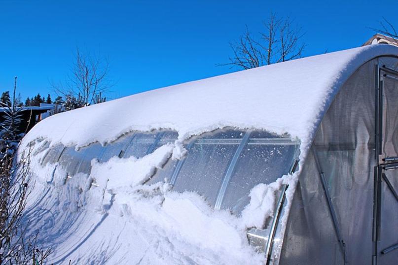 Надо ли закрывать теплицу из поликарбоната на зиму?, изображение №3