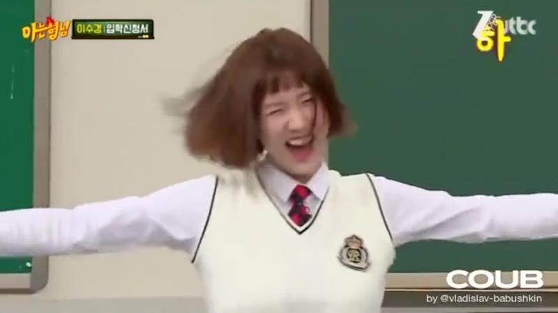 LeeSoo-kyung and Hula-Hoop