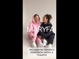 Запуск бренда одежды MARYFA